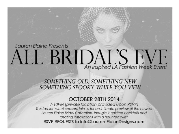 Lauren Elaine All Bridals Eve Event, LA Fashion Week