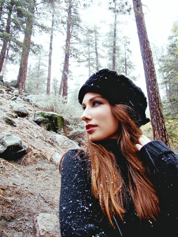 Lauren Elaine, Big Bear, Snow, November, Behind-the-seams