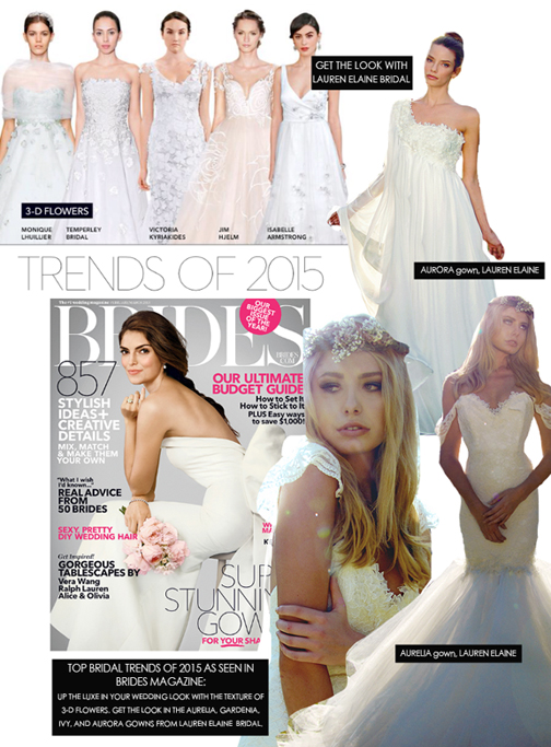 Lauren Elaine Bridal Brides Magazine Review