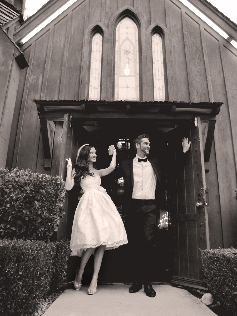 lauren elaine bridal reception collection 1950s vintage dresses