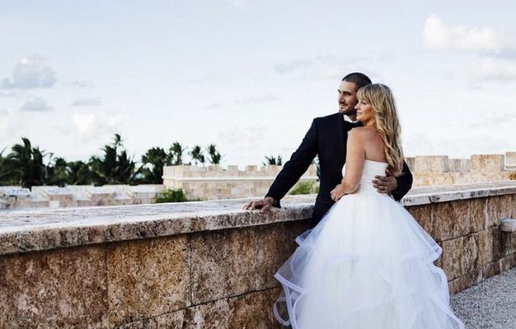 Lauren Elaine Lotus Gown - Real Weddings