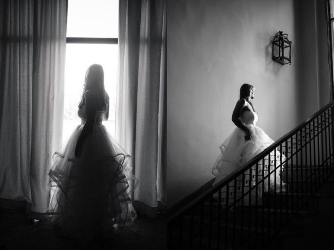 Lauren Elaine bridal lotus gown review