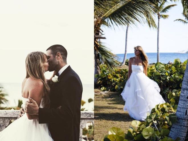 Real weddings featuring Lauren Elaine Bridal
