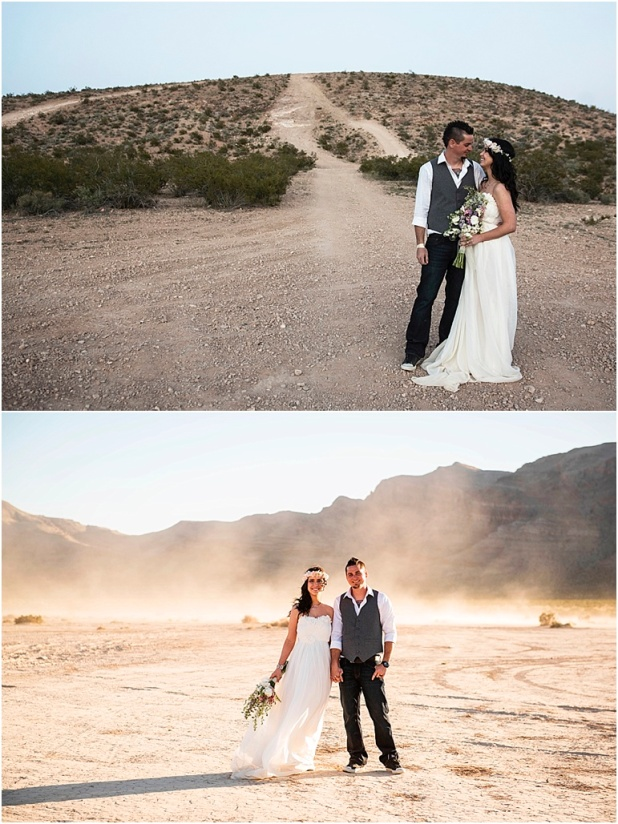 Lauren Elaine Bridal, Wedding at Jean dry lake bed las vegas