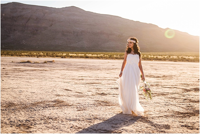 Lauren Elaine Bridal Real Wedding, Bohemian bridal