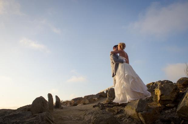 Morro Bay California seaside wedding, the knot