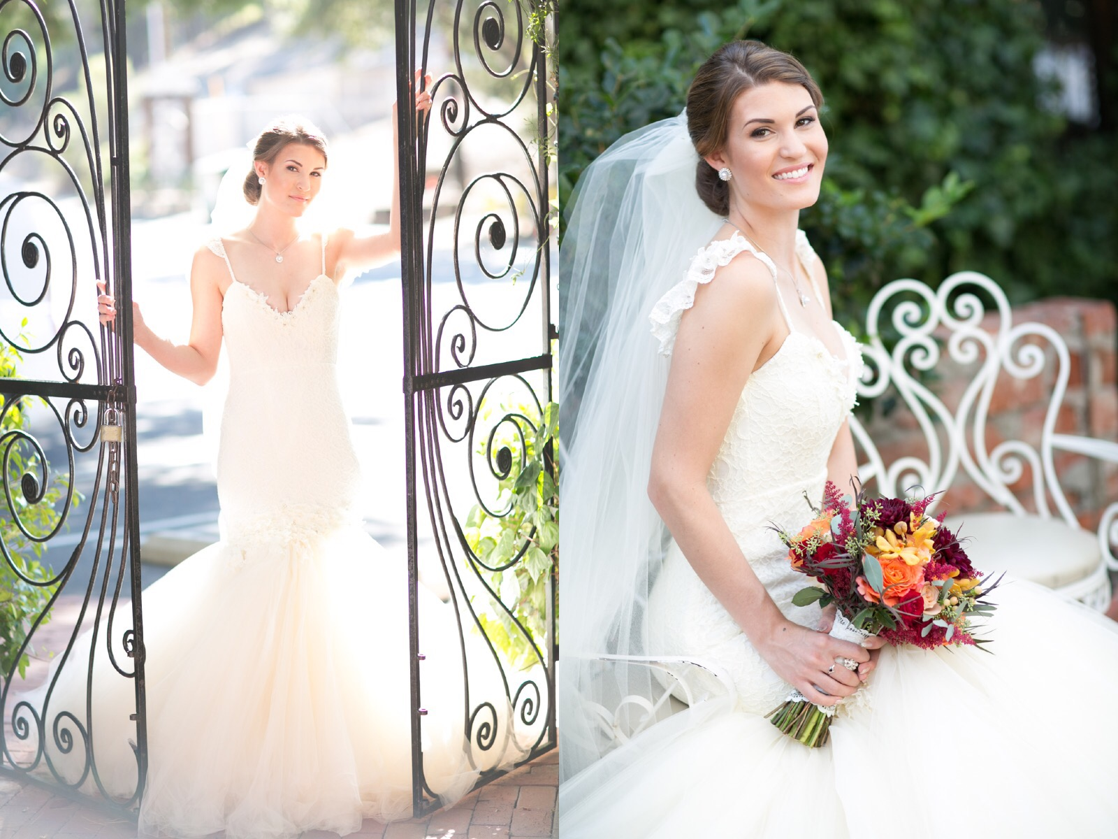 Danielle's Custom Lauren Elaine Aurelia Wedding Gown