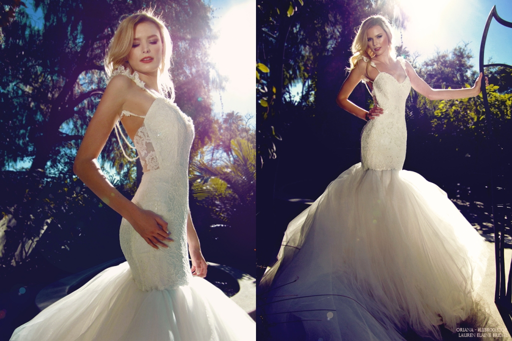 Oriana by Lauren Elaine Bridal. Full Lookbook.