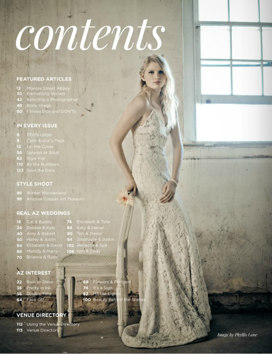Lauren Elaine Isla Gown for Weddings Arizona WedAZ Magazine