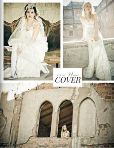 Lauren Elaine Isla Gown Bridal Editorial