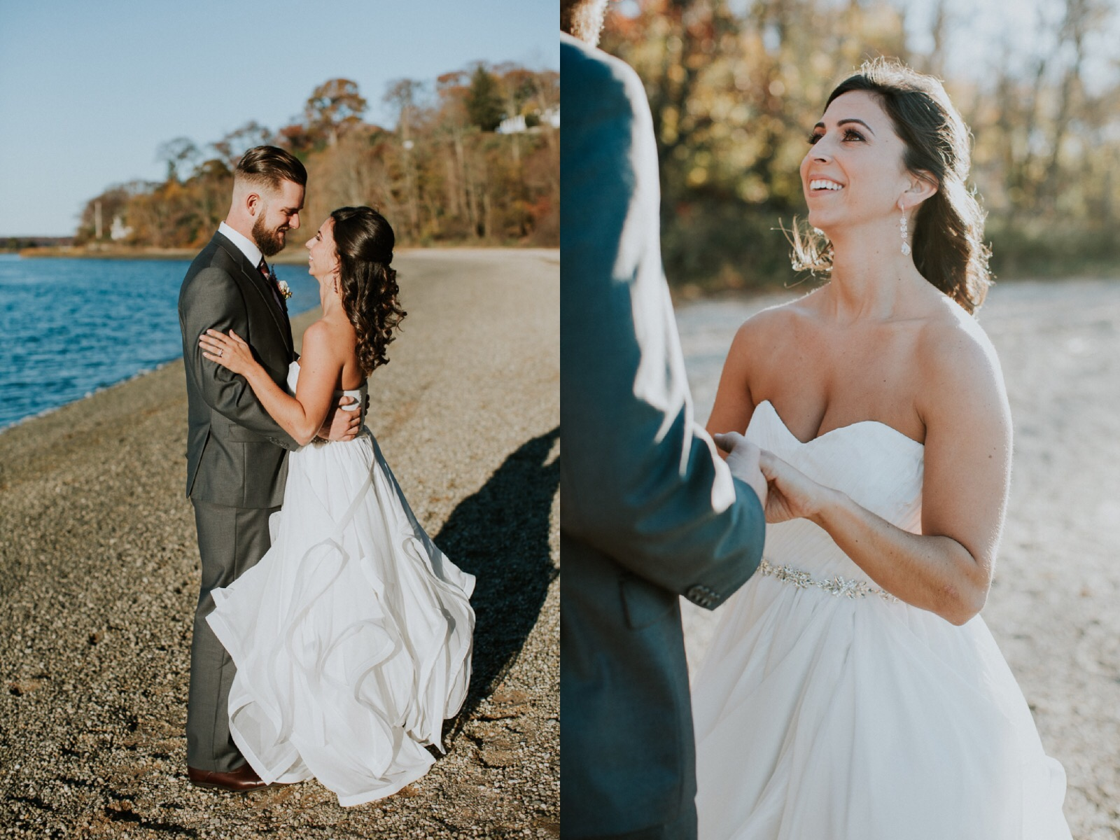 Romantic wedding gowns by Lauren Elaine Bridal. Cambria by Lauren Elaine