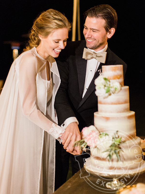 Alyssa Campanella's Lauren Elaine Wedding Dress