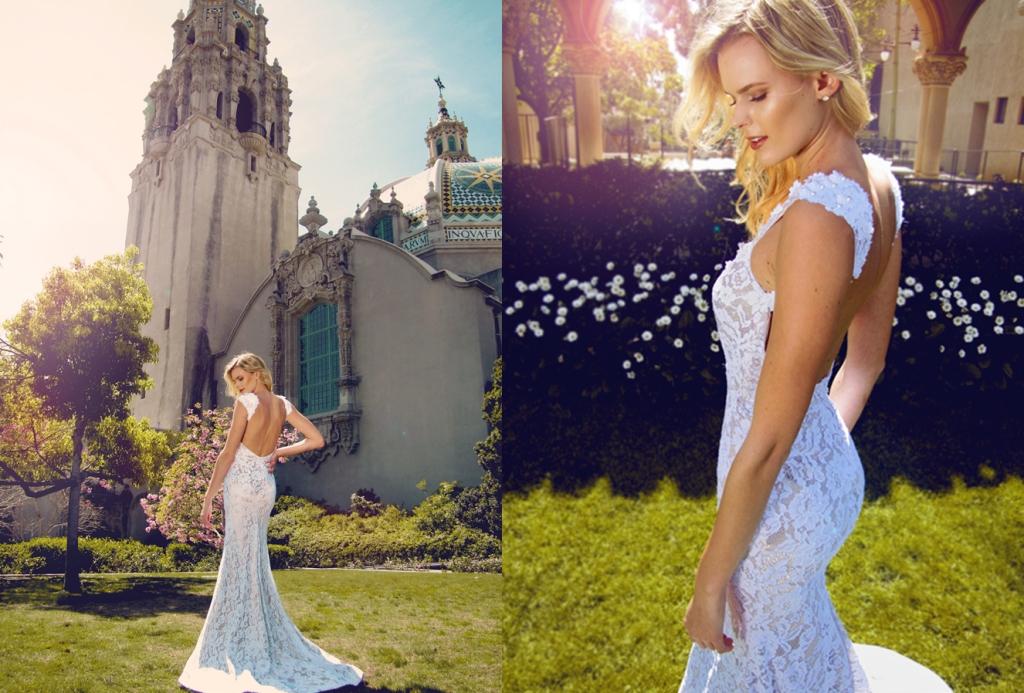 Amara Gown by Lauren Elaine Bridal