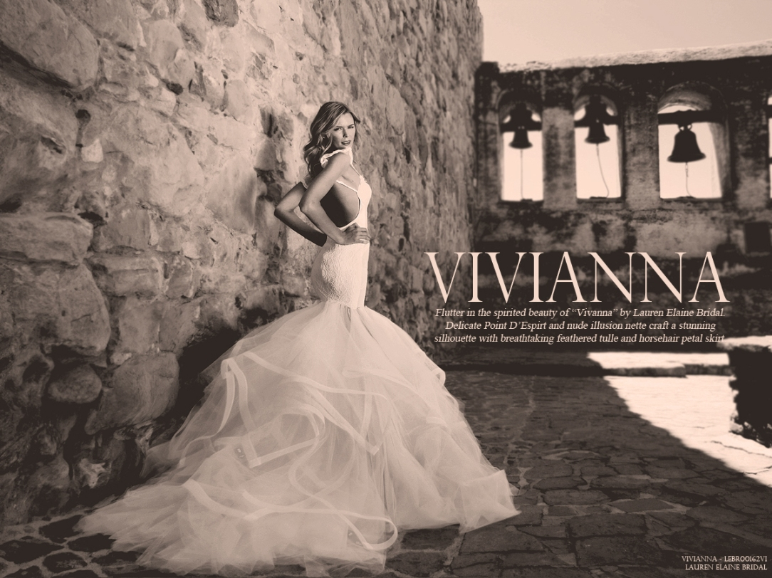 Vivianna by Lauren Elaine Bridal. View the look book.