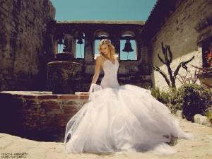 mermaid wedding dresses by lauren elaine