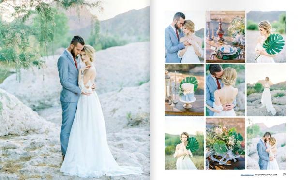 LaurenElaineBridal-ArizonaWeddingsMagazineCamelliaEditorialSpread