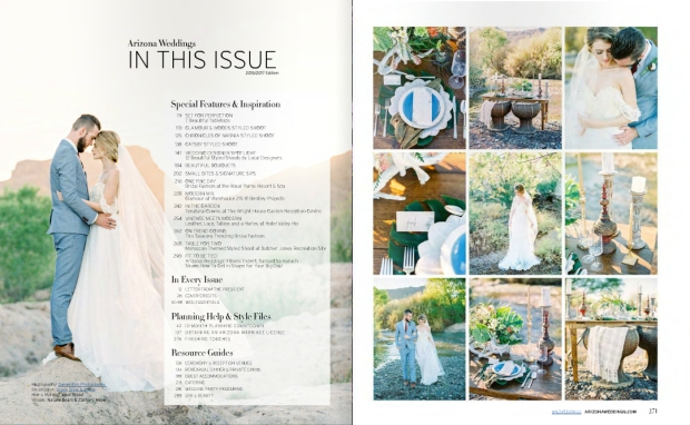 LaurenElaineBridalArizonaWeddingsMagazine-InThisIssue