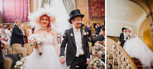 French-inspired wedding at the Fairmont Olympic Hotel in Seattle, Washington.