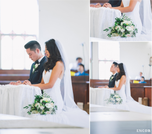 Michele and Michael exchange vows