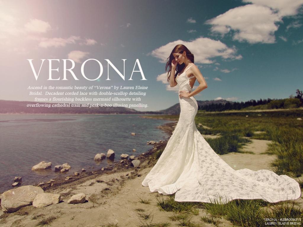 VeronaLookBookCover - Lauren_Elaine_Bridal
