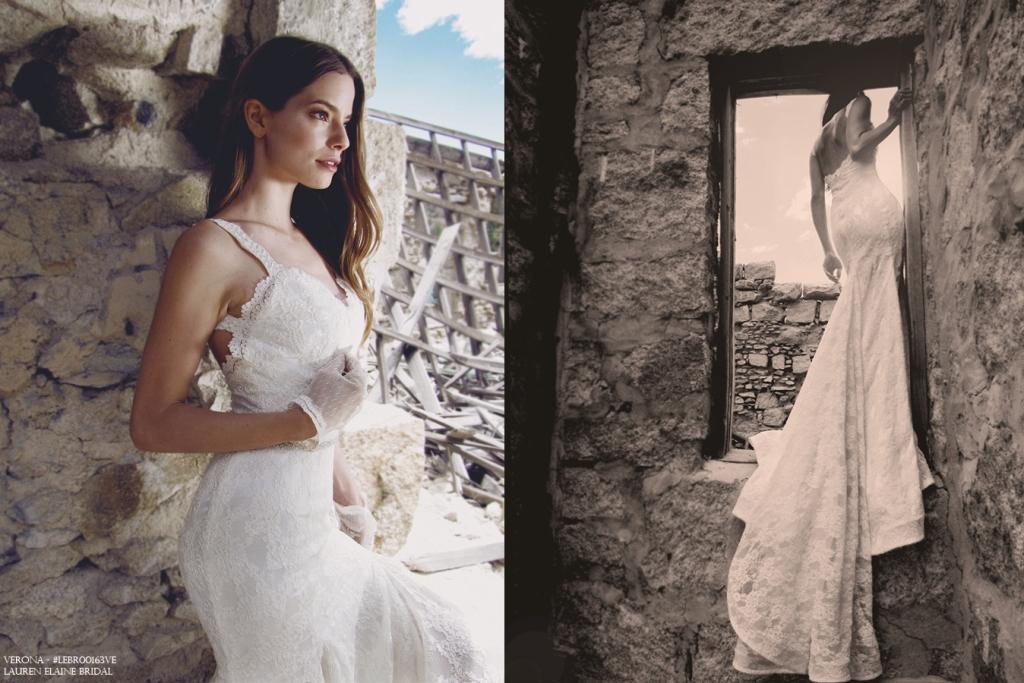 Verona wedding gown by Lauren Elaine Bridal