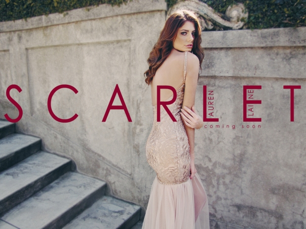 Scarlet by Lauren Elaine. Red carpet and evening wear collection from Los Angeles based Designer Lauren Elaine.
