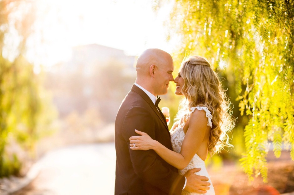 Tal and Ian at Angeles National Golf Club for their Wedding Day