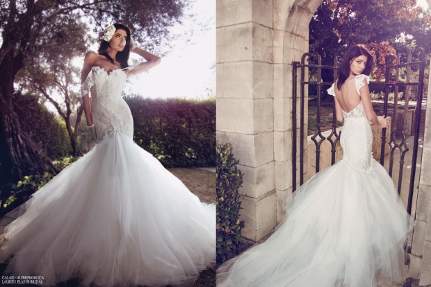 off-the-shoulder and backless mermaid wedding dresses and wedding gowns