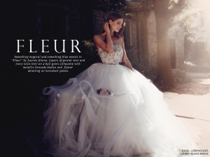 Fleur by Lauren Elaine look book cover photo