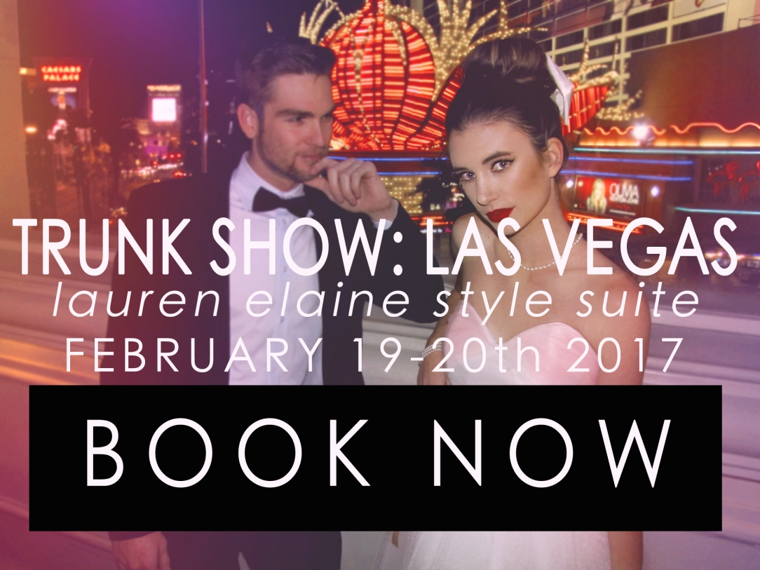 Las Vegas Bridal Trunk Shows in 2017