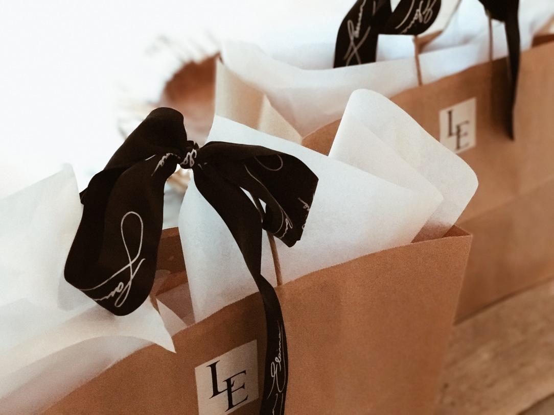 lauren elaine bridal luxe gift bags