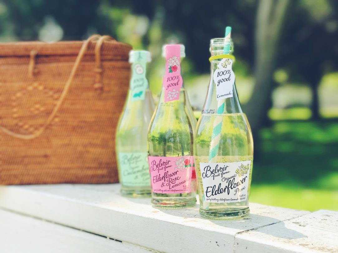belvoir luxury elderflower lemonades