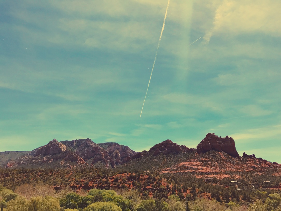 Red rock scenic views in Sedona, Arizona