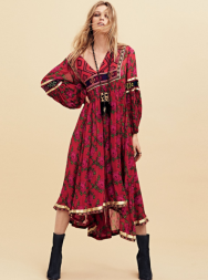 Free People Bold Blooms Dress