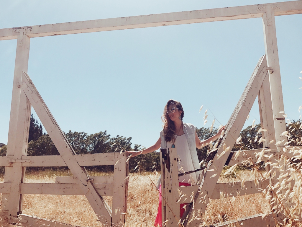 bridal fashion designer Lauren Elaine explores the landscapes of los olivos and santa ynez