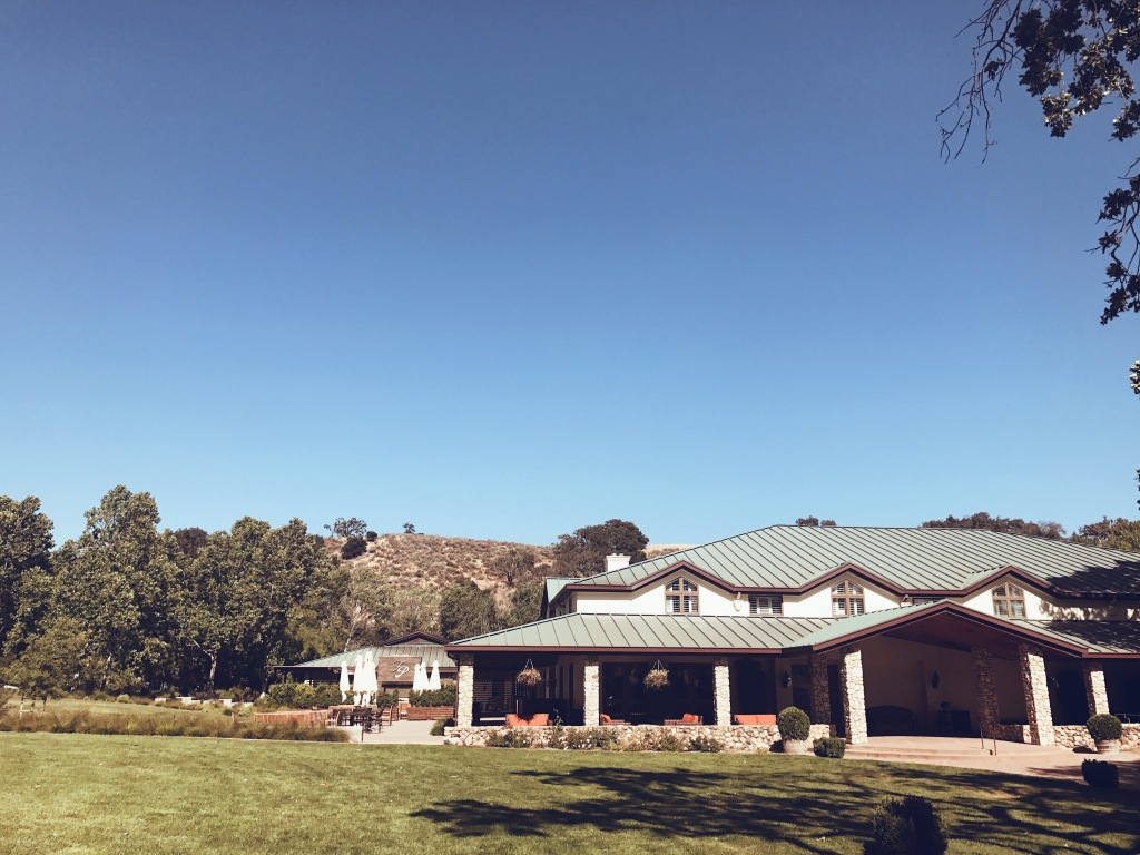 Fess Parker Winery Vineyard in Santa Ynez, California