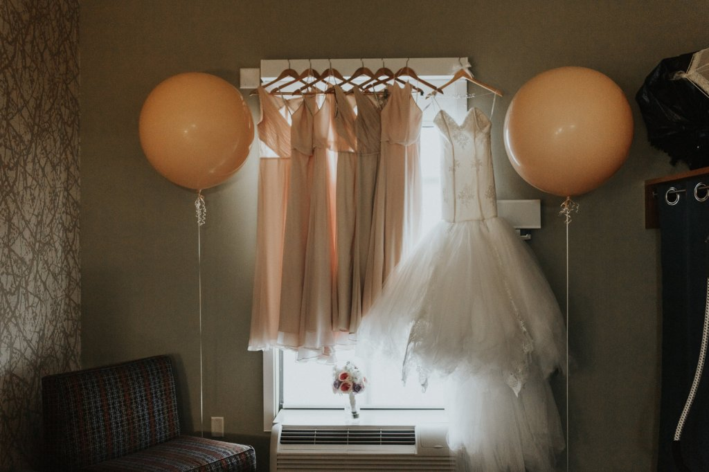 Bride Harmony's Lauren Elaine Arabelle wedding gown
