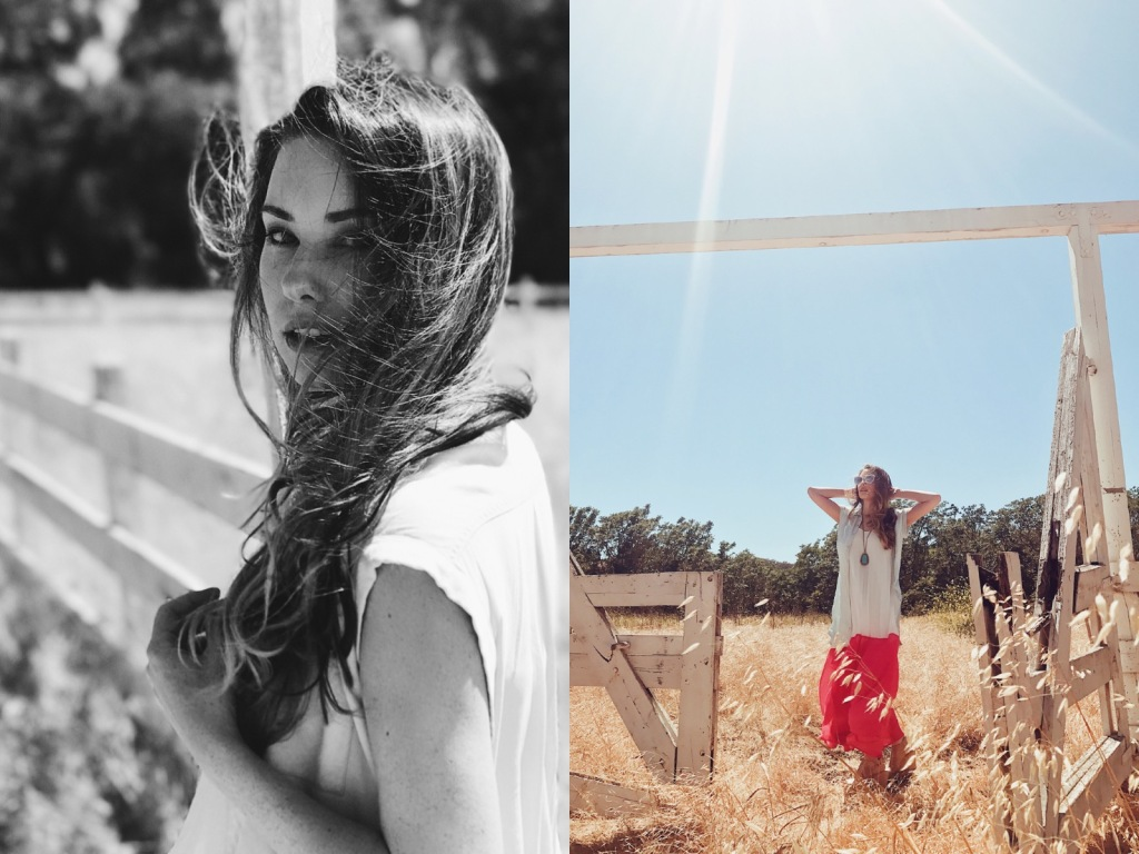 Los Angeles Fashion designer Lauren Elaine explores Los Olivos, California