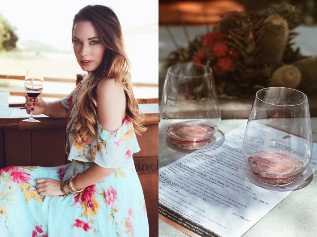 Los Angeles Fashion Designer Lauren Elaine explores the Foxen Canyon Wine Trail