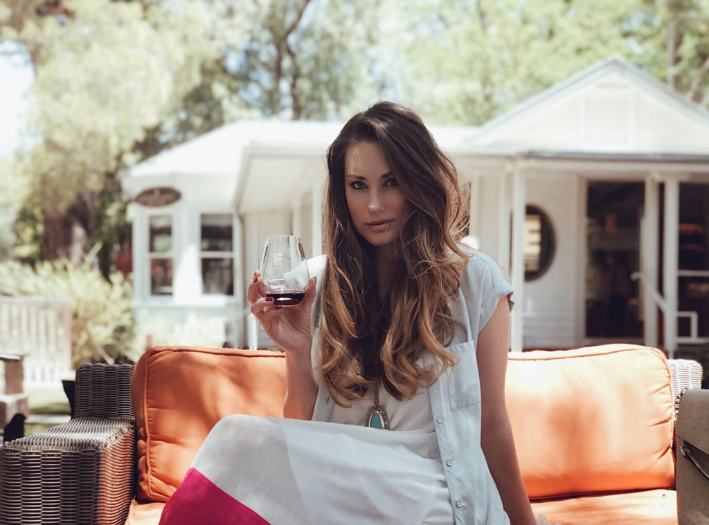 Los Angeles Fashion Designer Lauren Elaine visits Epiphany Cellars in Los Olivos