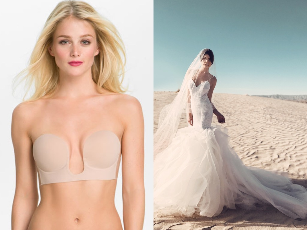 The best lingerie for backless wedding dresses
