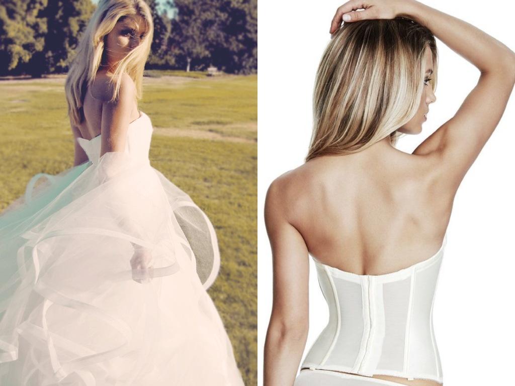 The best lingerie for backless wedding dresses