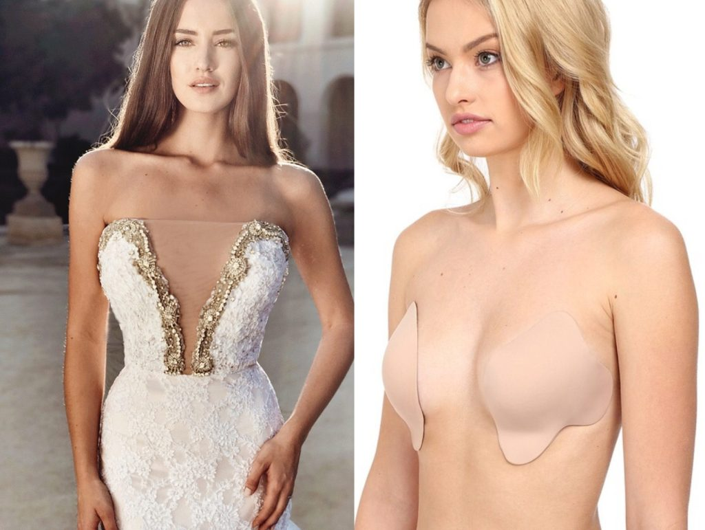 The best lingerie for deep-v wedding dresses and gowns