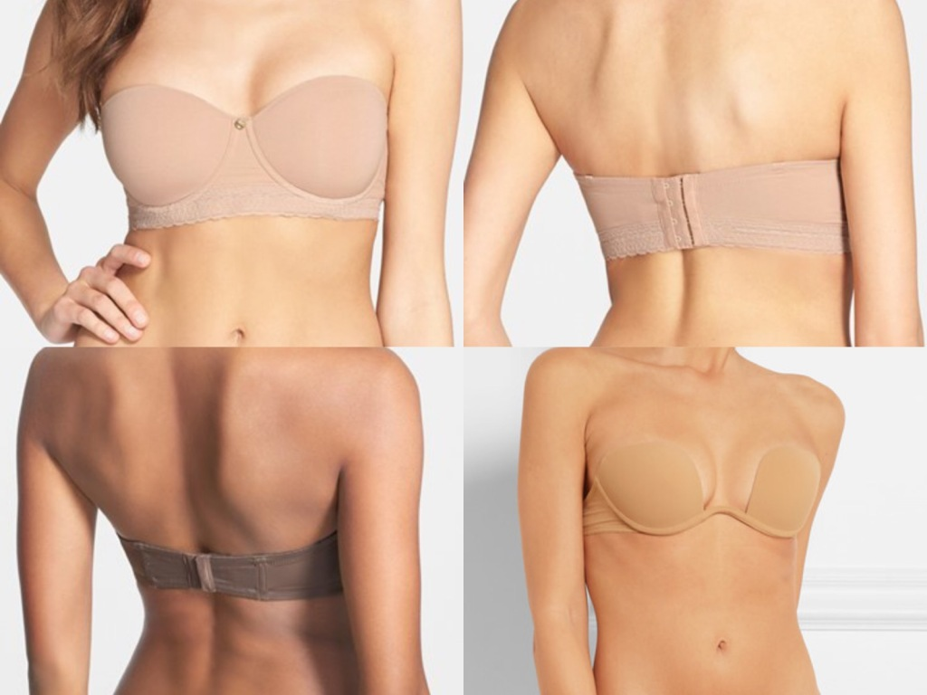 The best strapless bras and lingerie for wedding dresses