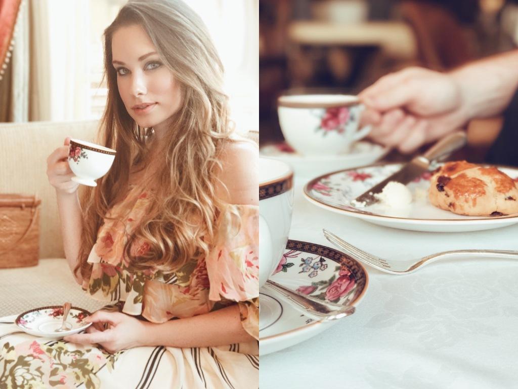 bridal designer lauren elaine explores the langham huntington pasadena afternoon tea with wedgewood