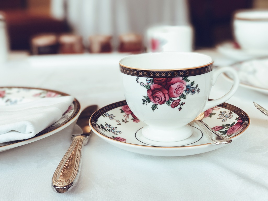 Afternoon Tea with Wedgewood at the Langham Hotel in Pasadena
