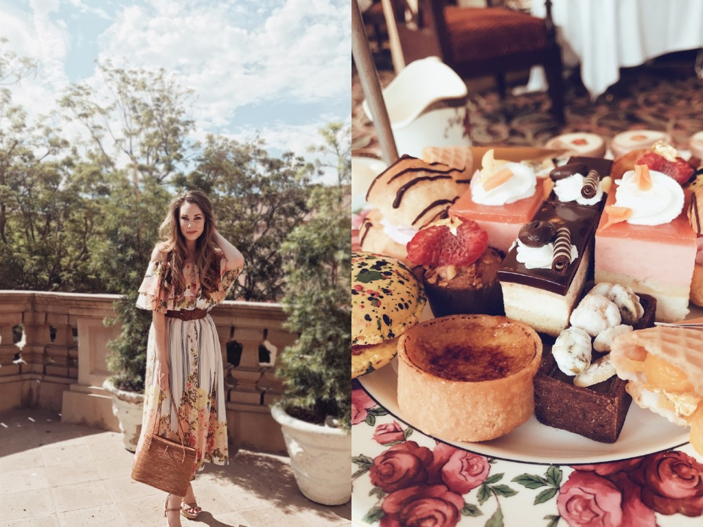 Los Angles Bridal designer Lauren Elaine explores the Langham Huntington Pasadena afternoon Tea Service with Wedgewood