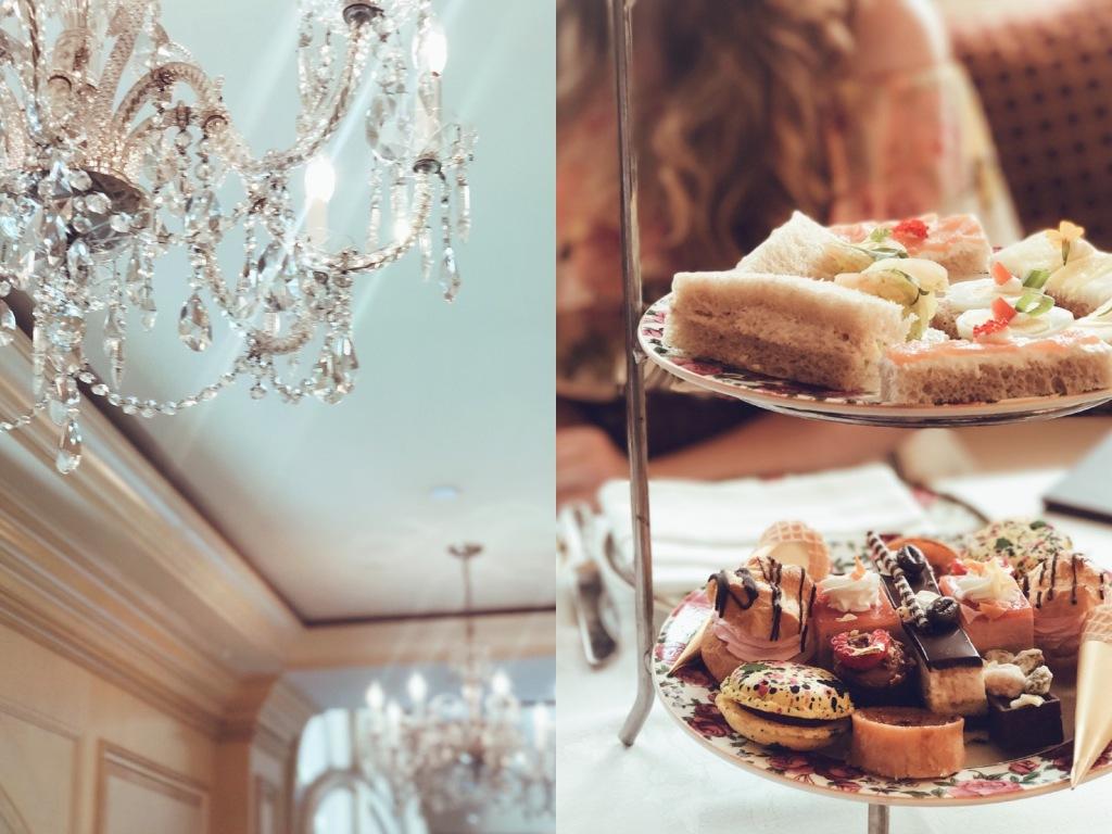 Los Angeles Bridal Designer Lauren Elaine has Afternoon Tea at the Langham Huntington in Pasadena