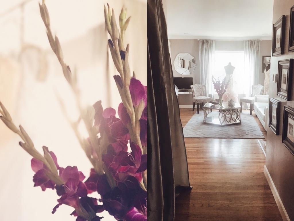 A look inside the Lauren Elaine Flagship Bridal Salon in Los Angeles.