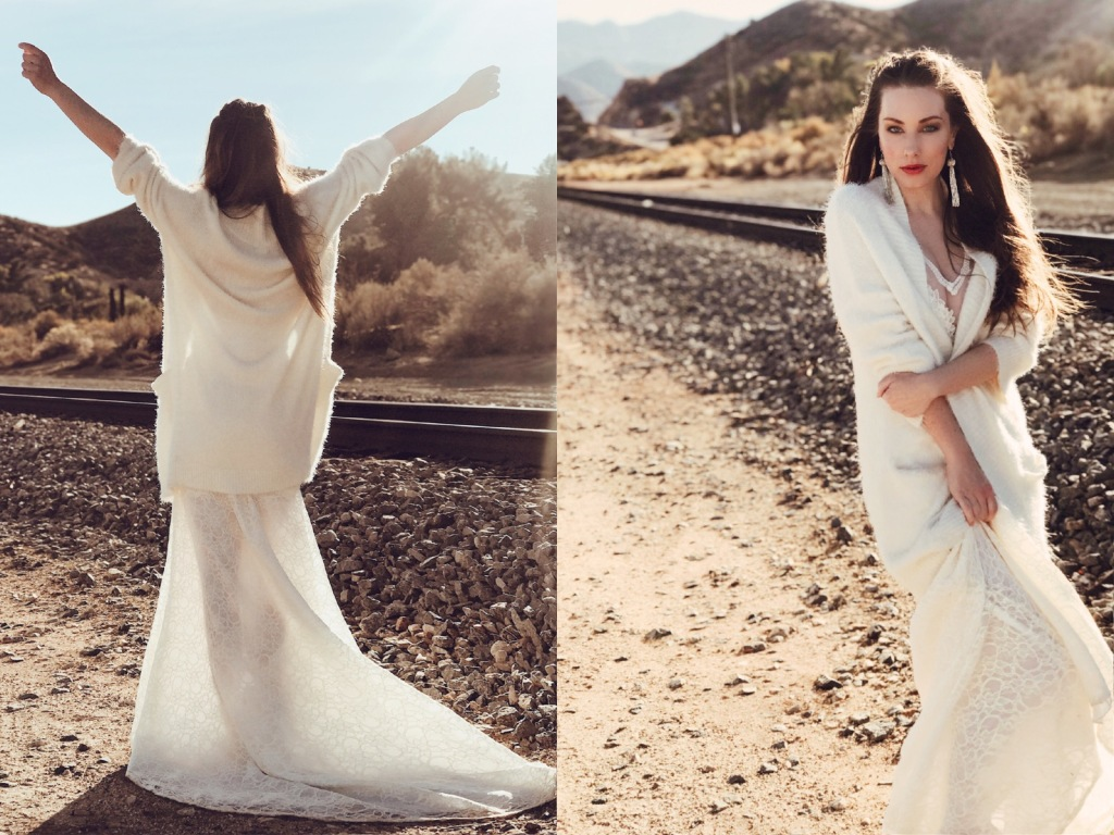 Bridal Designer Lauren Elaine shares the history of wedding gown trains and customizable train options